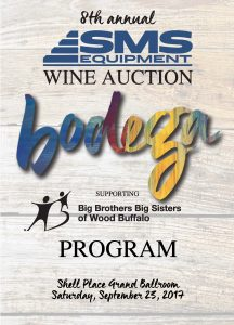 Bodega-8th Wine Auction @ Grand Ballroom, Shell Place | Fort McMurray | Alberta | Canada